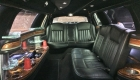 Black limo interior for limo serivce riverside ca